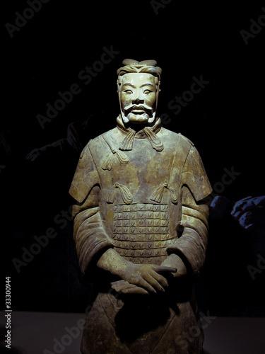 Fond de hotte en verre imprimé Xian The famous terracotta warriors of Xian, China