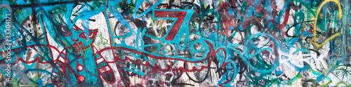 Poster Graffiti Street Graffiti Background