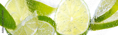 Fotografie, Obraz  Limette & Zitrone