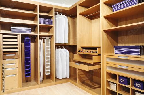 Fotomural  wood closet