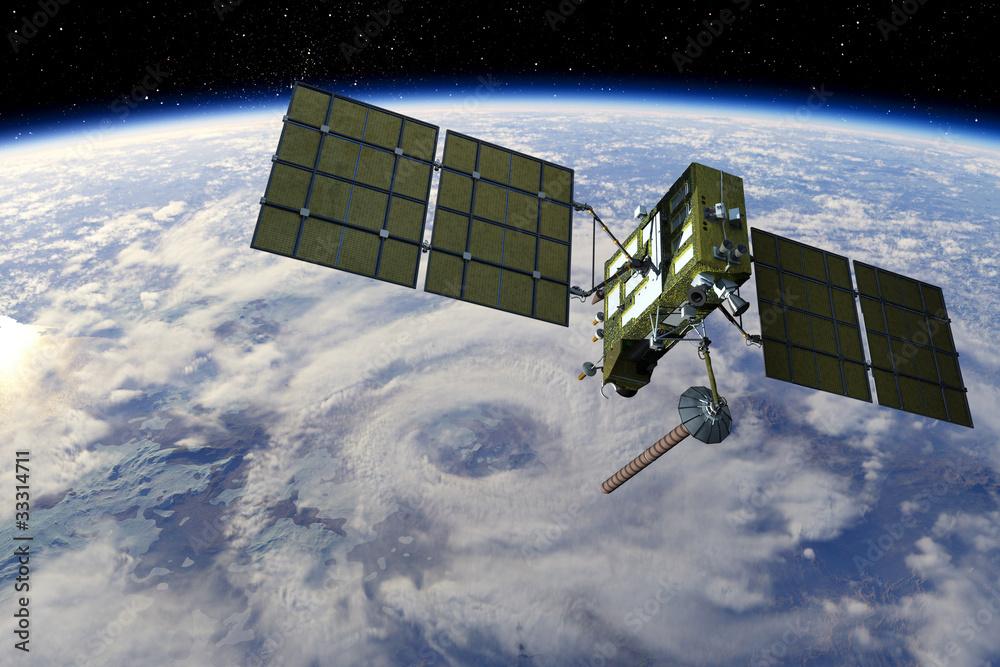Fototapeta Modern GPS satellite