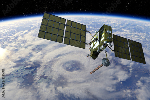 Fotografía  Modern GPS satellite