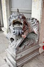 Chinese Unicorn Sculpture