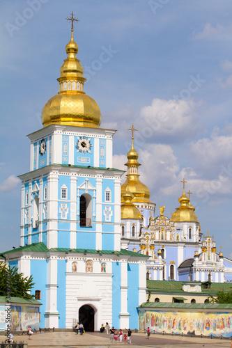 Foto op Plexiglas Kiev St. Michael's Golden-Domed Monastery in Kiev, Ukraine