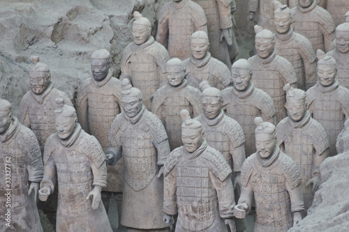 Foto op Plexiglas Xian Terracotta warriors, Xian, China