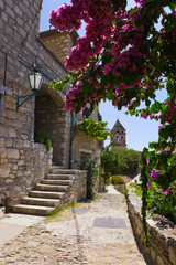 FototapetaStreet at Omis, Croatia