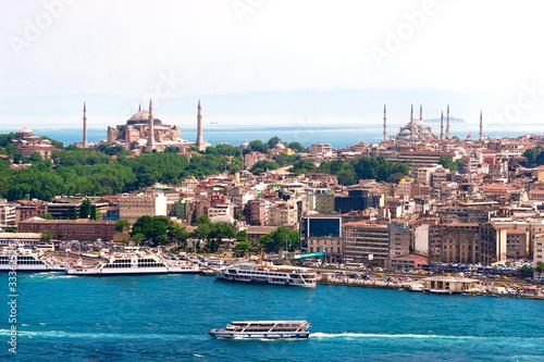Photo  Istanbul, Türkei, Blaue Moschee, Hagia Sofia