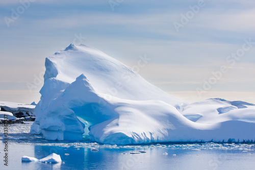 Recess Fitting Antarctic Antarctic iceberg
