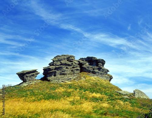 Fotografie, Obraz  Jeseniky Mountains,Rock formation Petrovy kameny(Peter Stones)