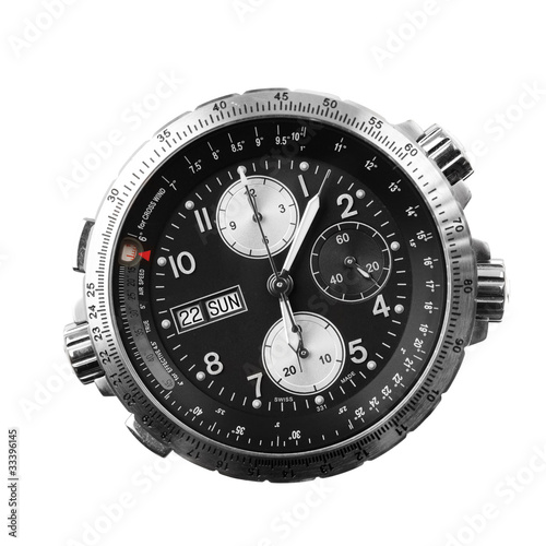 Fotografie, Obraz  chronograph isolated on white