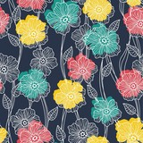 flowers seamless  wallpaper