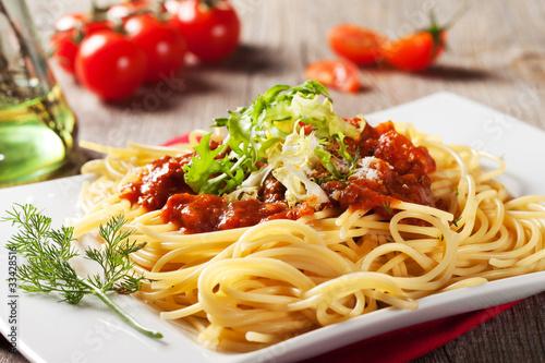 Fotografie, Obraz  Spaghetti bolognaise