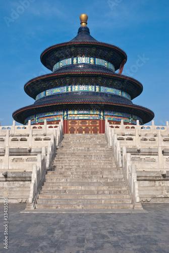 Foto op Aluminium Beijing Temple du Ciel, Pékin 02