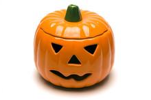 Ceramic Jack O Lantern Pumpkin