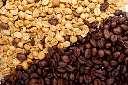 prazone-i-surowe-ziarna-kawy