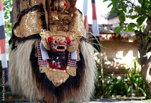 Foto op Plexiglas Indonesië Barond Dance Bali Indonesia