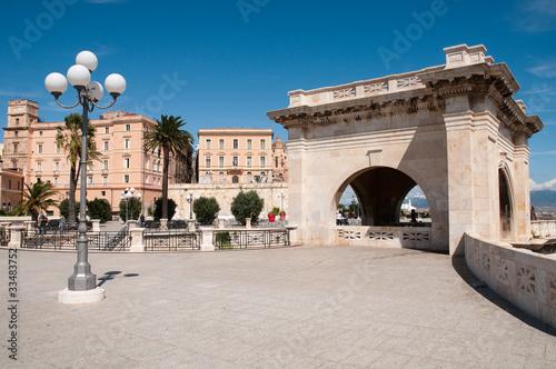 Sardinia, Italy: Cagliari: S. Remy rampart