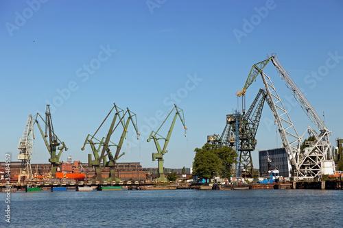 Foto op Canvas Rotterdam Shipyard