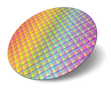 Silicon Wafer With Processor C...
