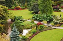 Lush Colorful Botanical Garden