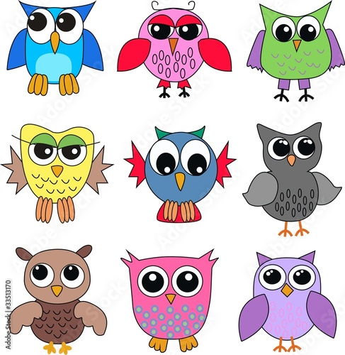 In de dag Vogels, bijen owls