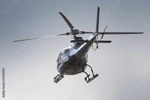 Canvas Prints Helicopter Helicopter rear side