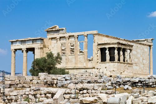 Staande foto Athene Temple of Erechtheum, Acropolis, Athens, Greece