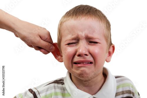Photo Child punishment