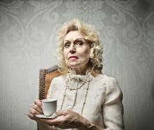 Snobbish Old Lady