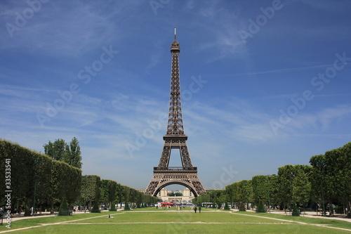 Fotografia  Champ de Mars - Tour Eiffel