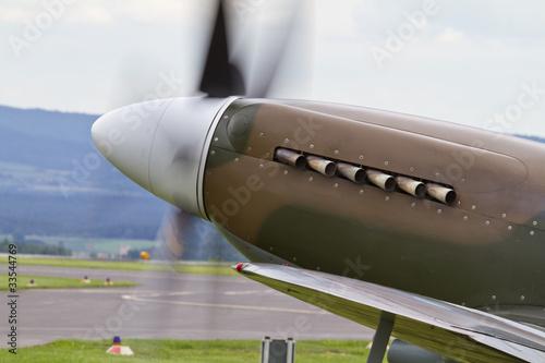 Carta da parati Nase einer Spitfire