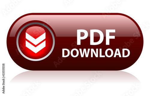 Fotografía  Vector pdf download button
