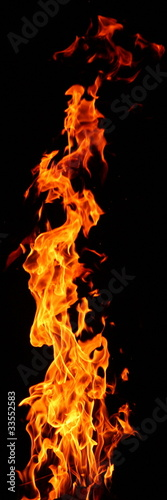 Poster Fire / Flame Feuer