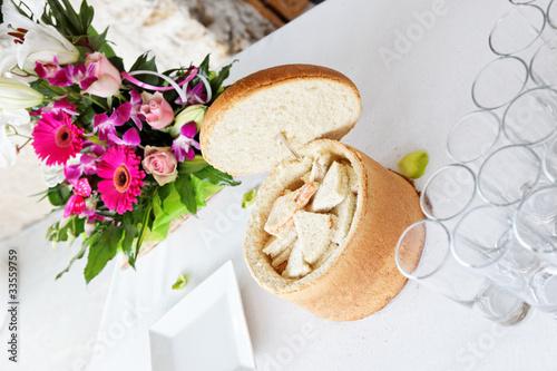 Fotografie, Obraz  pain surprise et buffet