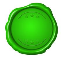 Green Seal Grünes Siegel Frei Free Unbeschriftet
