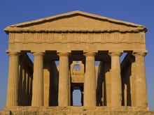 Facciata Del Tempio Della Concordia, Agrigento