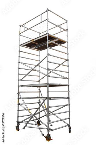 Obraz na plátně scaffold