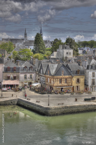 Photo sur Aluminium Ville sur l eau Port d'Auray