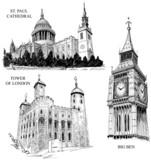 London architectural symbols