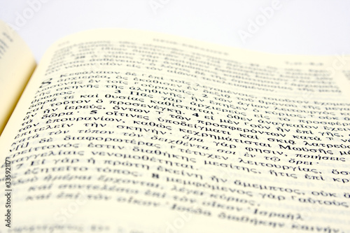 greek bible - Buy this stock photo and explore similar
