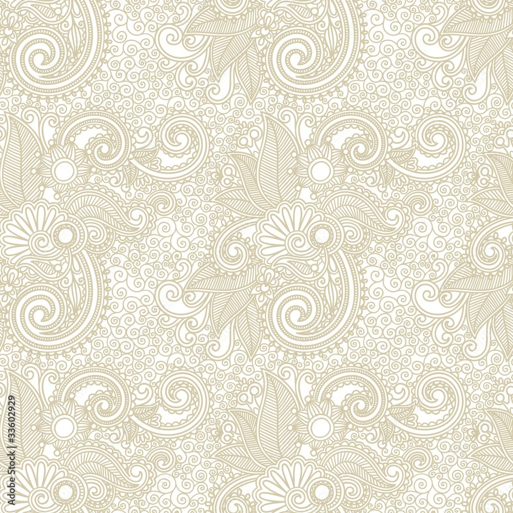 vintage ornate seamless pattern