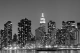 New York City at Night Lights, Midtown Manhattan