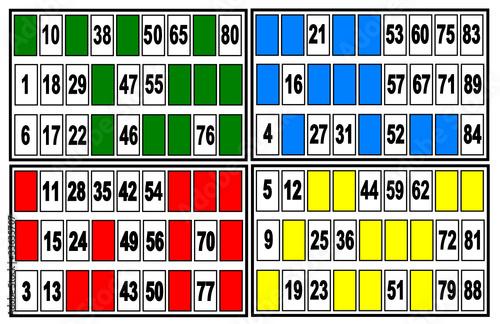 Belle Carte de loto et bingo - Buy this stock vector and explore similar SL-87