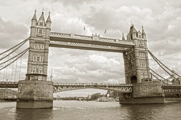 FototapetaThe famous Tower Bridge, London, England