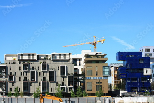 фотография  low-energy building in progress