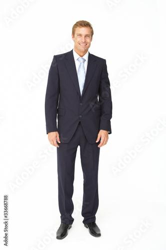 Fotografie, Obraz  Portrait of business man in suit
