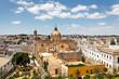 canvas print picture - Blick auf Jerez de la Frontera mit Kathedrale, Spanien