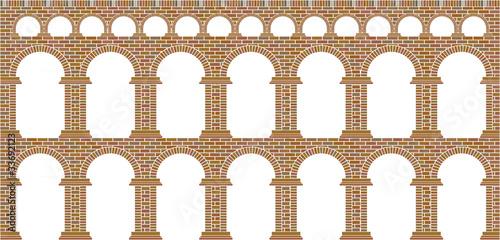 Carta da parati aqueduct