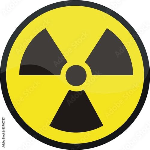 Photo bouton radiation