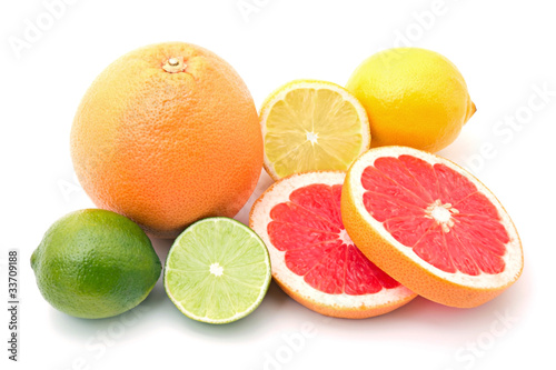 Fototapeta Mix Of Colorful Citrus Fruit